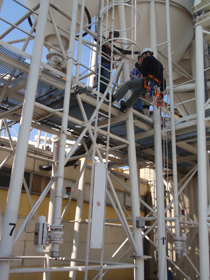 Rope Access Training Industrieel klimmen